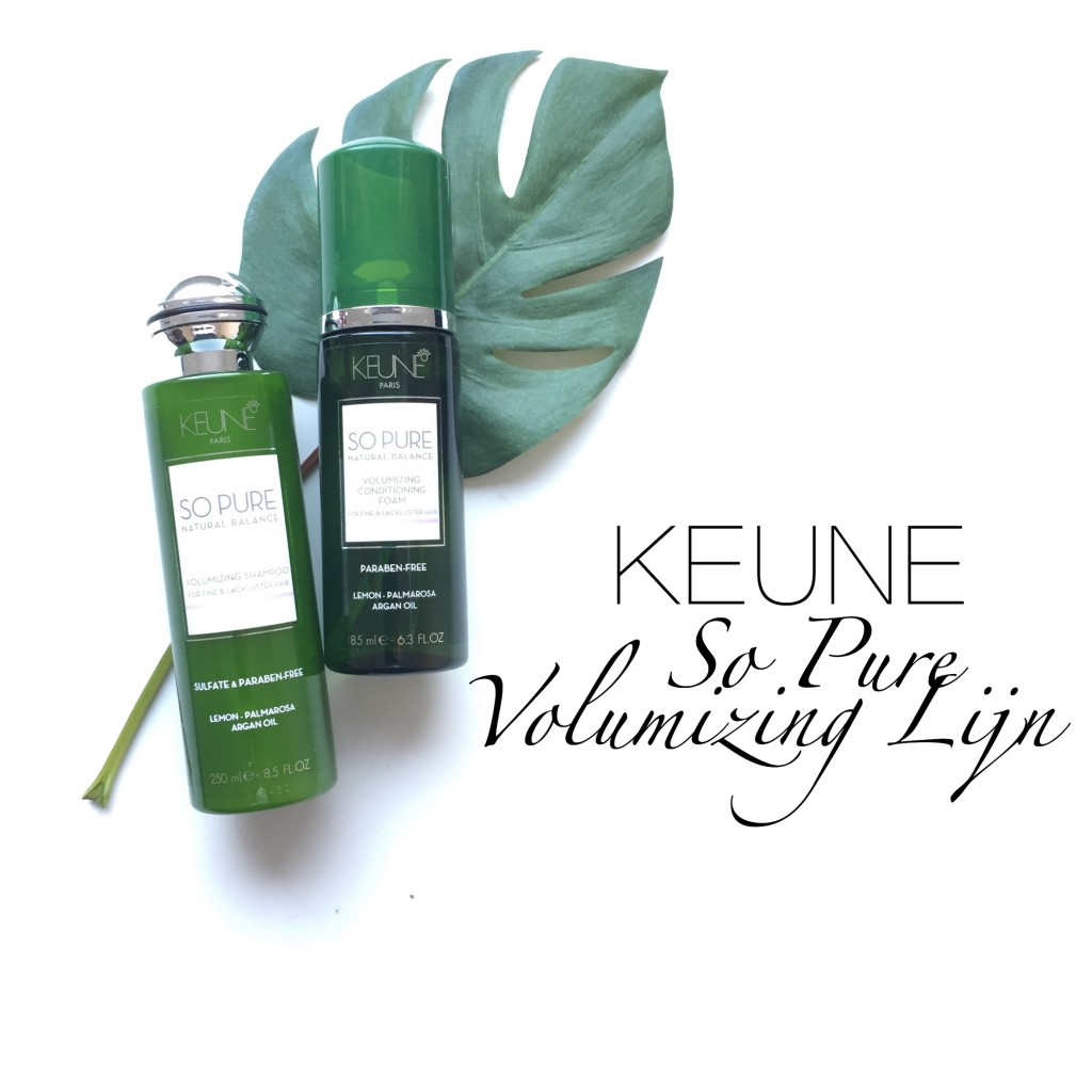 Keune So Pure Volumizing Lijn