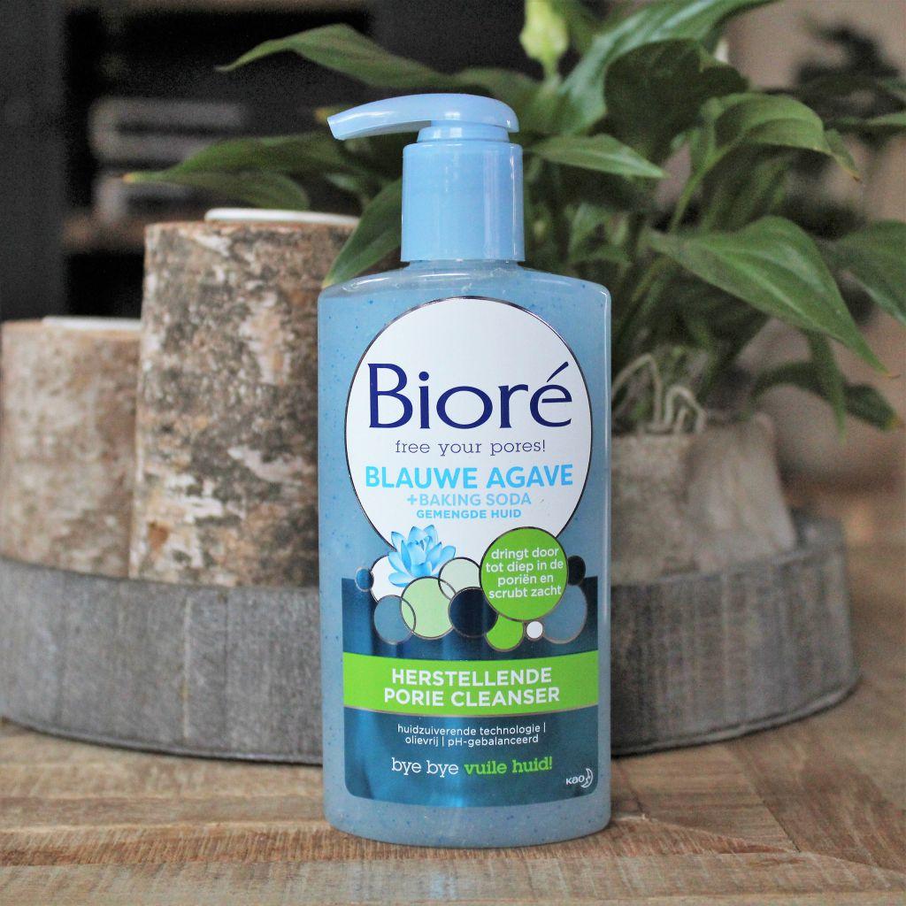 Bioré Gezichtsreiniging met blauwe agava en baking soda