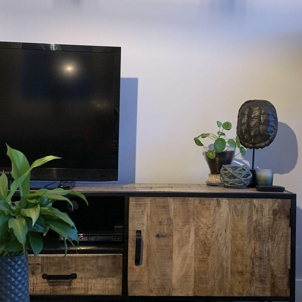 Een nieuw TV meubel