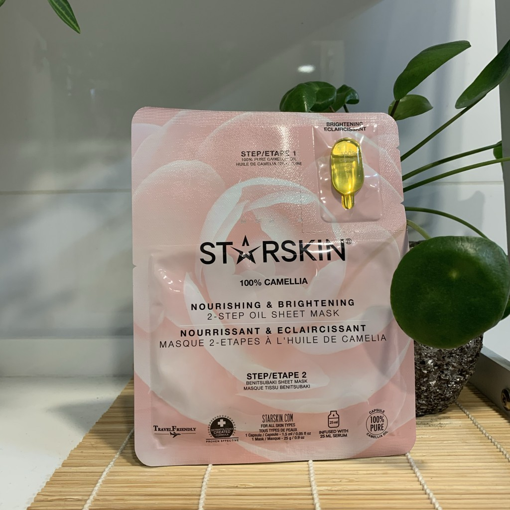 Starskin 100% Camellia Brightening Oil Mask