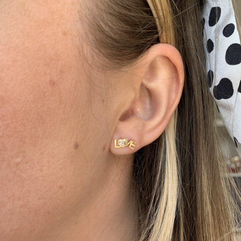 Nieuwe oorbellen van Isabel Bernard