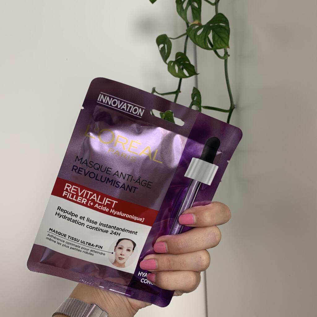 L'Oréal Revitalift Filler Tissue masker