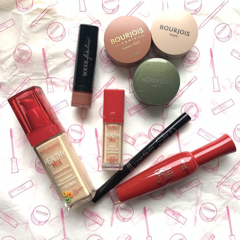 Herfstlook met make-up van Bourjois