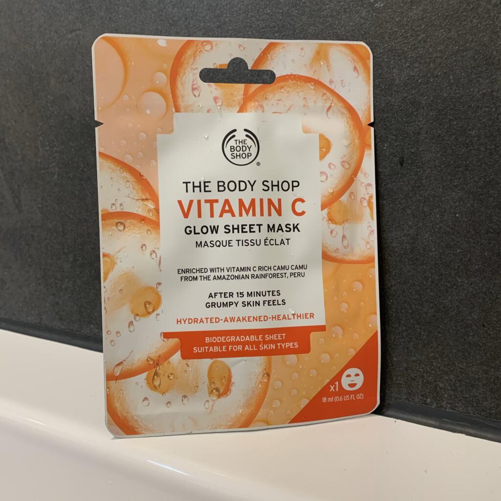 The Body Shop Vitamin C Glow Sheet Mask