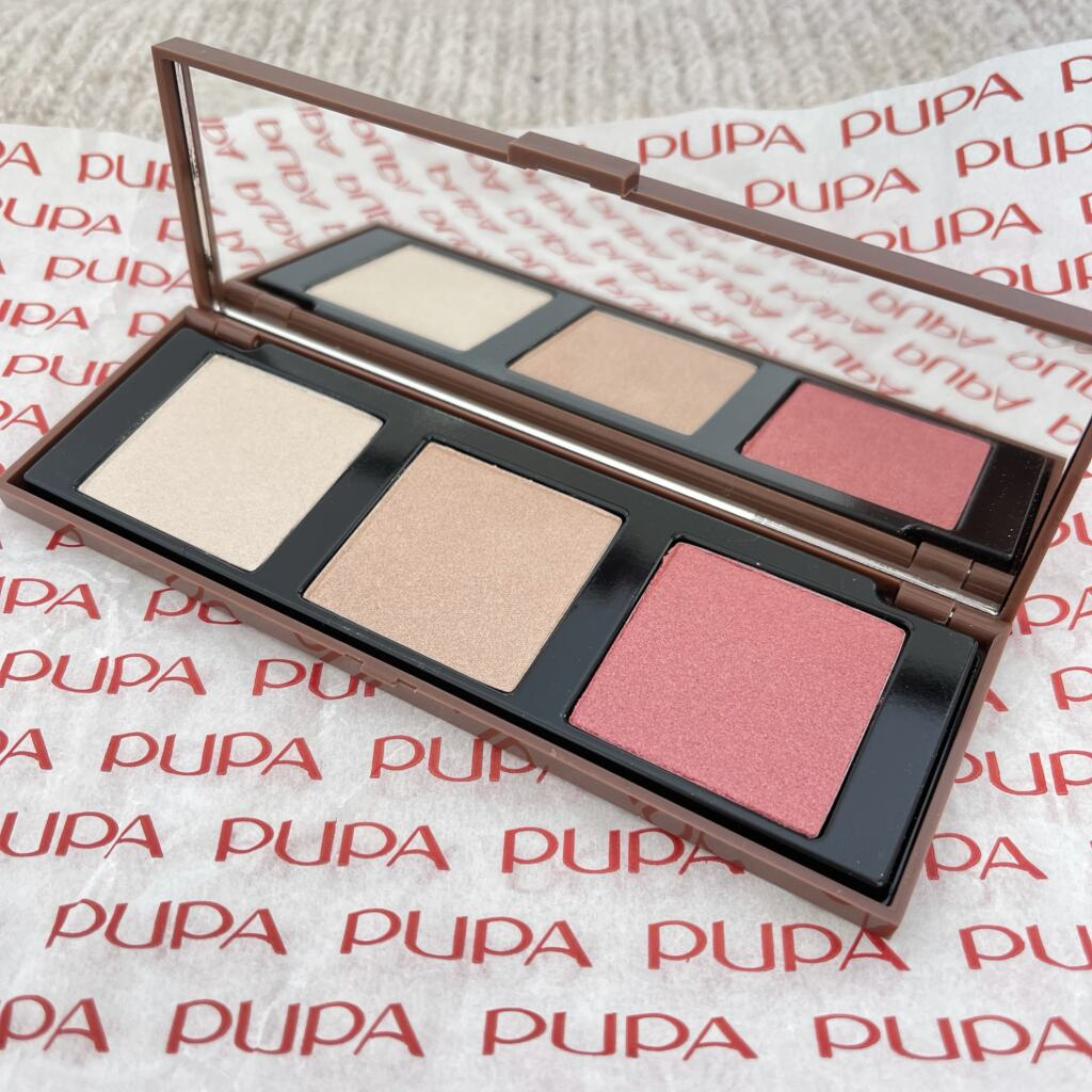 Pupa Highlighting Face Palette