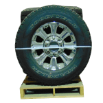 Chrome F250 8 Spoke a