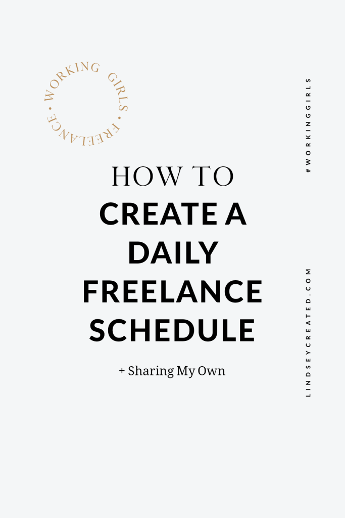 How To Create A Daily Schedule For Freelancers