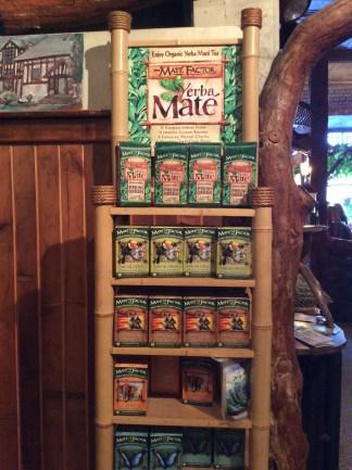 Yerba maté bagged tea for easy on- the -go drinks