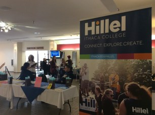 The annual Inch-A-Thon event by Ithaca College's Hillel