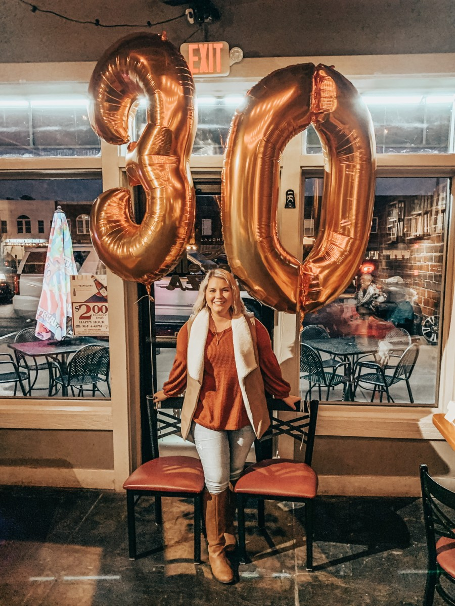 30 Things About Me on My 30th Birthday
