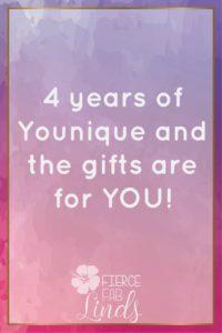 Younique anniversary kudos