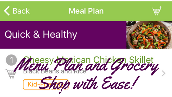 Meal Plan and Grocery Shop with Ease!