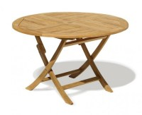 Ashdown Folding Round Garden Table and Chairs Set ...