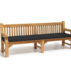 Large Square Sofa Cushions Adrian Pearsall Style Outdoor Bench Cushion - 2.4m Lindsey Teak
