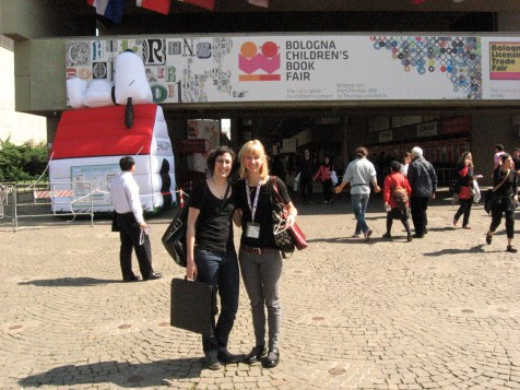 Diana and I became fast internet friends and met at the Bologna Children's Book Fair for the 1st time in 2011. We cheered each other on as we shopped our portfolios around.