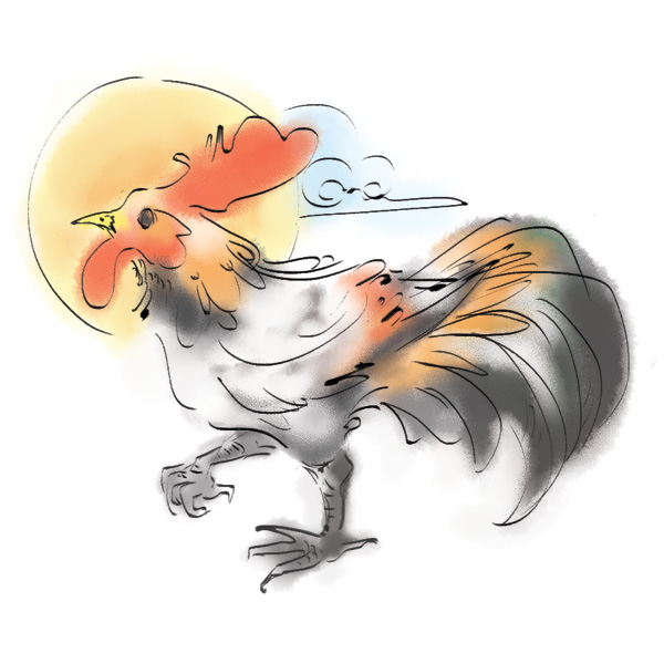 zodiacbookmark_rooster_600x600