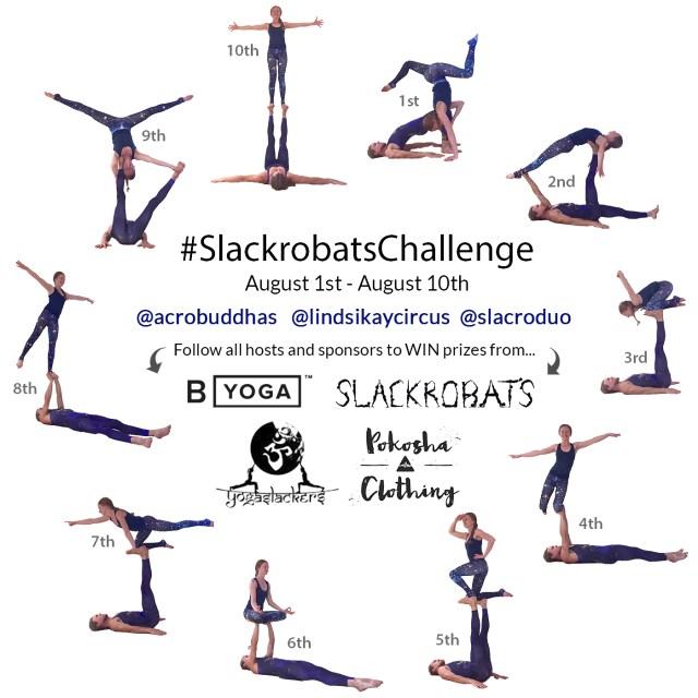 slackrobats lindsikaycircus lindsikay acrobuddhas slacroduo yogaslackers challenge byoganow pokosha