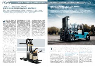 L'Industriel - Double page manutention