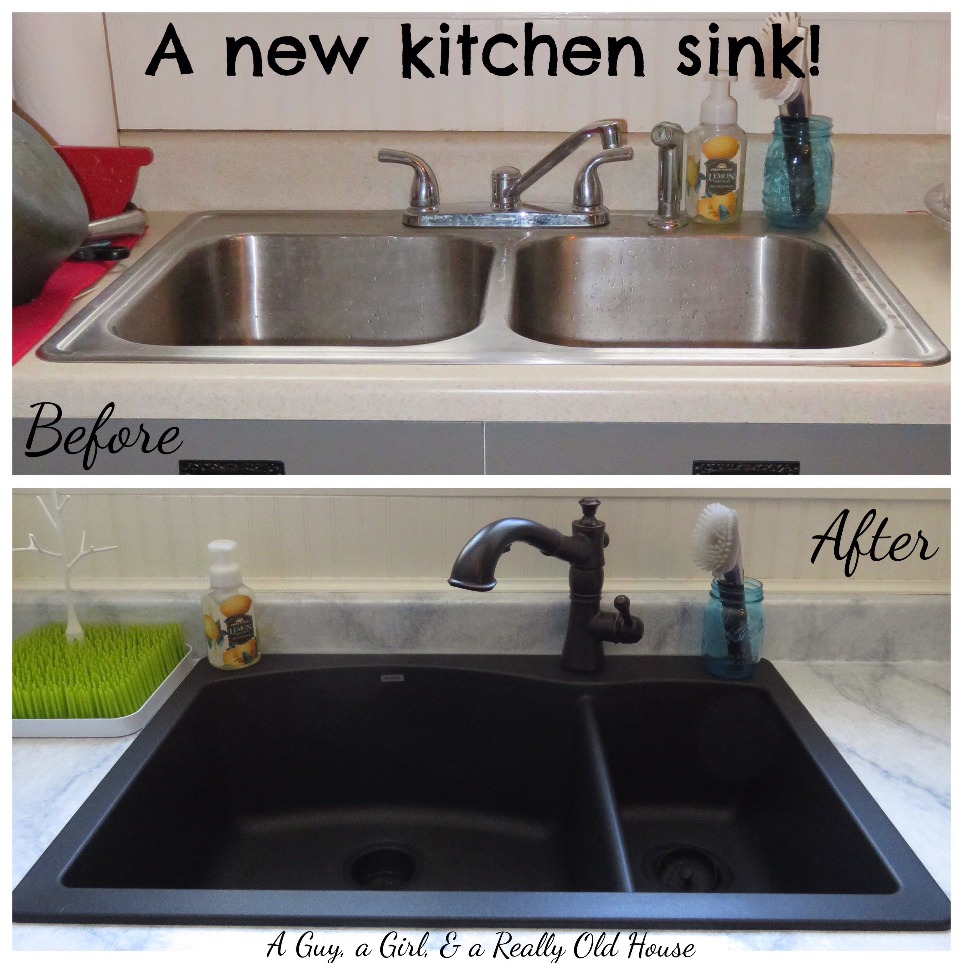 everything and a new kitchen sink a