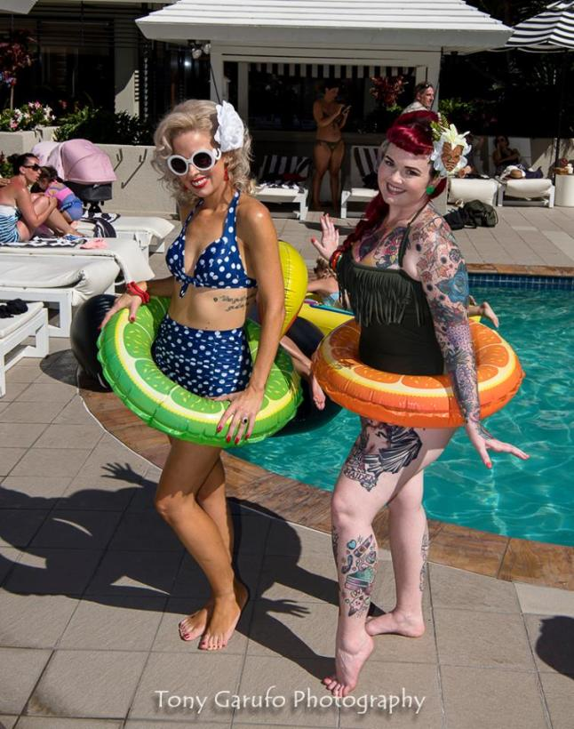 Pin Up Pool Party