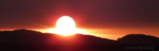 Straight Shot Sunset