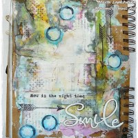 Art Journal Page Tutorial By Marta Lapkowska