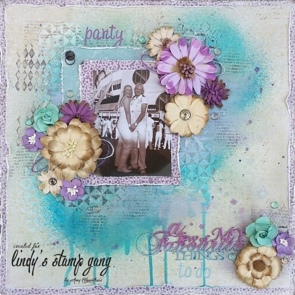Amy  Lindy's May Color Challenge 1