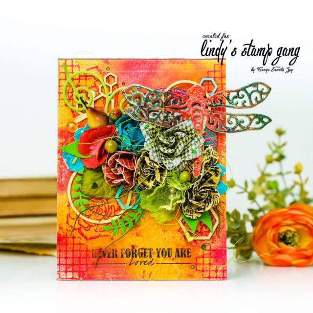 Tanya Sonata joy Lindys Sept color challenge