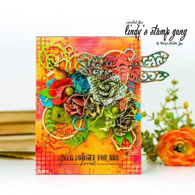 Tanya Sonata joy Lindys Sept color challenge