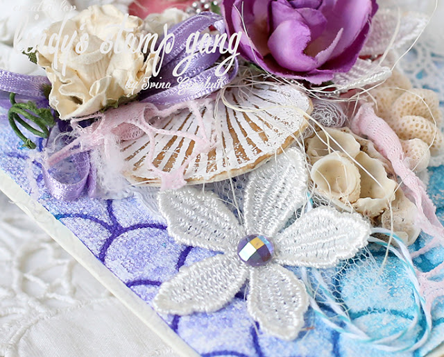 Create your own embellishments using Lindys by Irina Gershuck