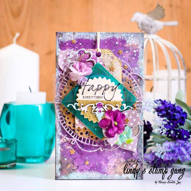 card for lindy's january color challenge tonya