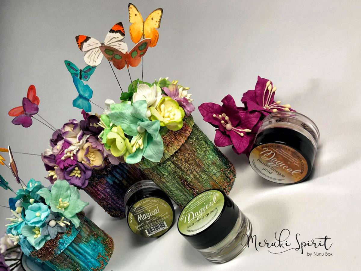 Mixed Media Tiny Gardens with Nunu Box