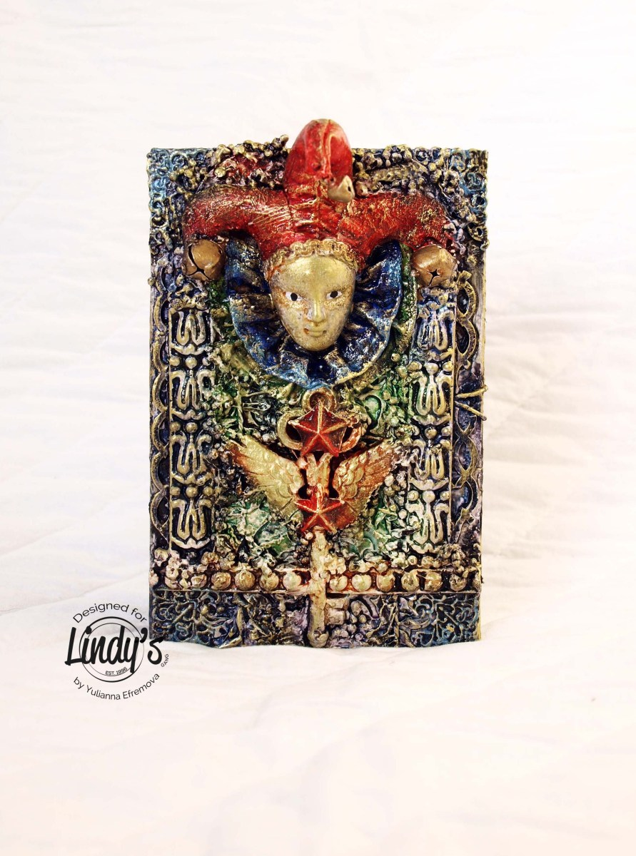 Jester Mixed Media Box by Yulianna Efremova