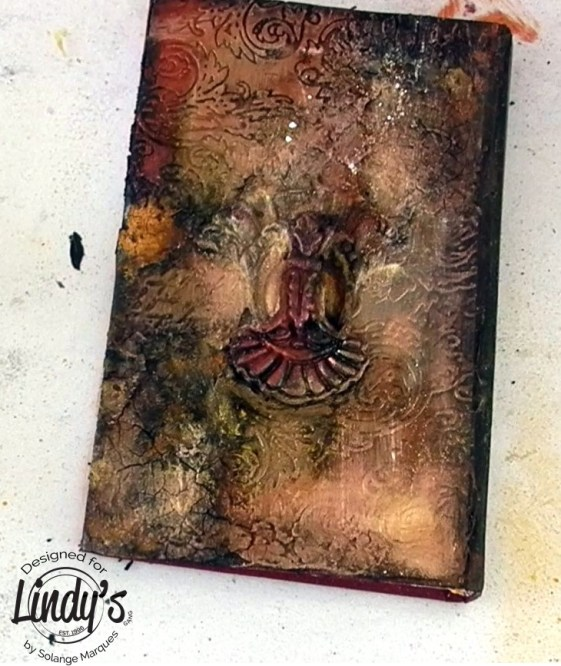 altered book cover by Solange marques with lindy's Gang products-04