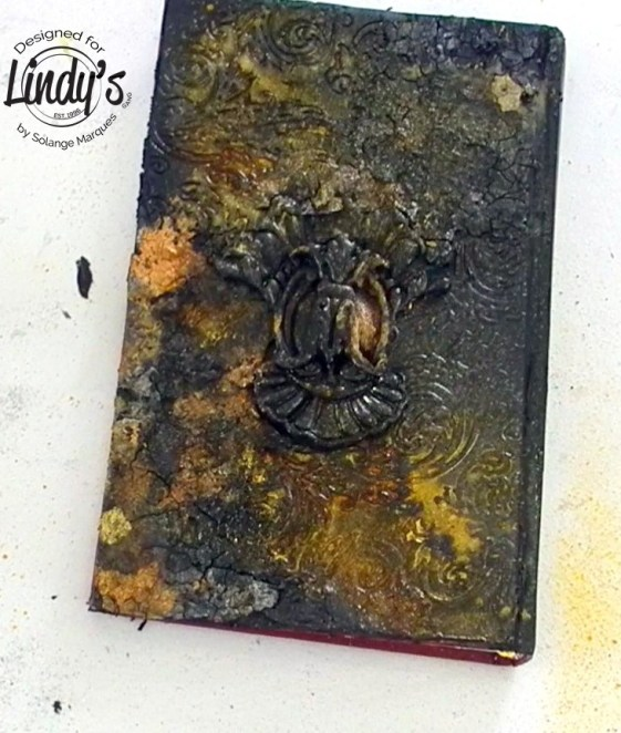 altered book cover by Solange marques with lindy's Gang products-05