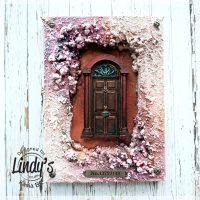 Mixed Media Frame (Magic Doors) with Kasia