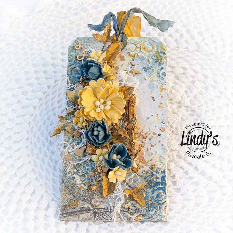 Mixed Media Tag by Pascale