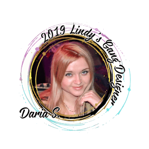 Lindys Blog Designer badge 2019 Daria