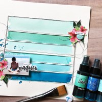 Beginner Ombre Layout with Caroline