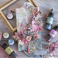 Mixed Media Panel with Lindy's Magicals and Sprays by Olga Ravenskaya
