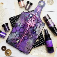 Make your own Abstract Mixed Media Art with Cindy