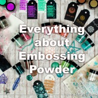 Everything about Lindy's Embossing Powder with Nuneka