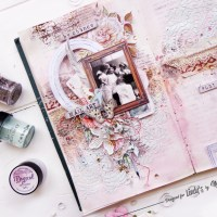 Shabby Art Journal Tutorial with Noura Pompilla
