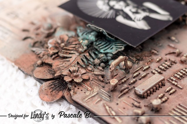 Art is the Answer - Mixed media panel for Lindy's Gang DT