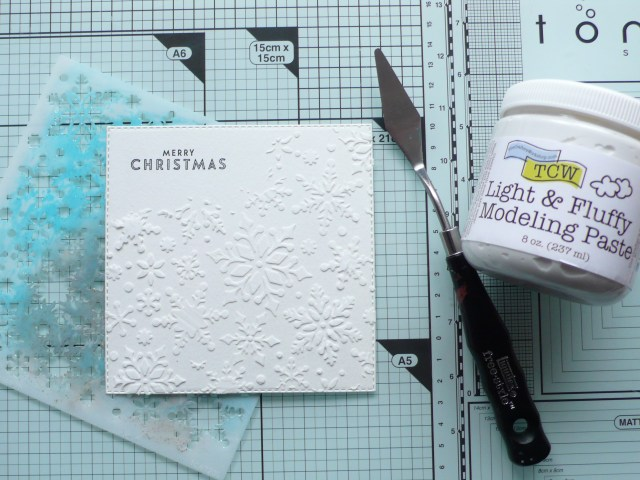 Step by step tutorial on creating a fun Christmas card project