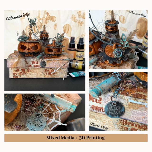 Mixed Media + 3D Printing Marietta