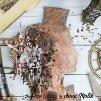 Steampunk Lady Key Rack - Home Decor with Anna Malik