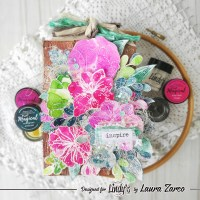 Wooden Effect Tag with Lindy's Magicals