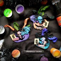 Haunted Halloween Pumpkins with Lindy's Sets- Viktoriya P.