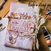Art Journal Cover by Tanya Sonata Joy